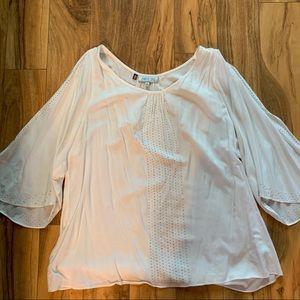Jennifer Lopez white dress shirt XL